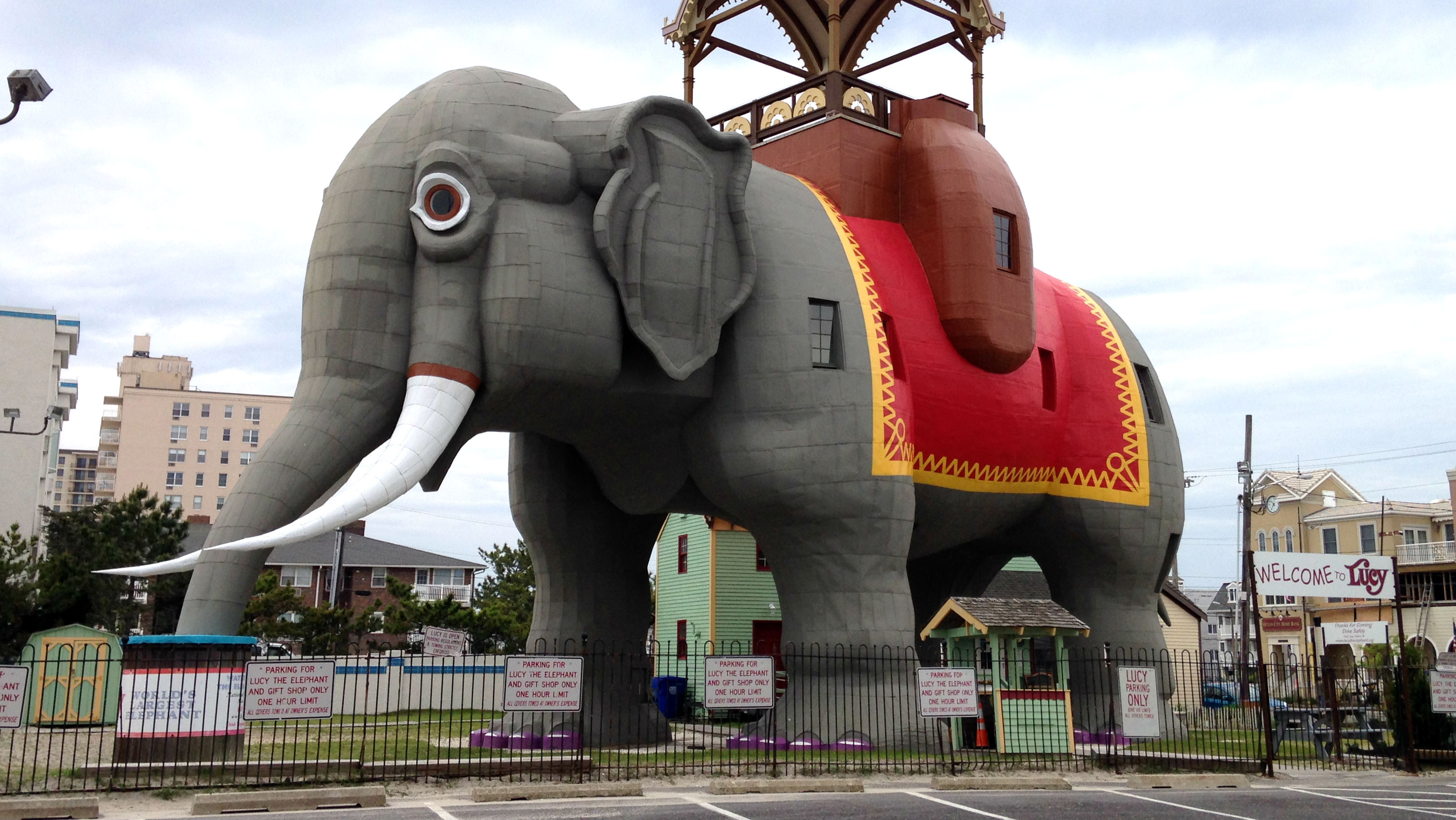 Lucy the Elephant in Margate. (Credit: Andrew Kramer)