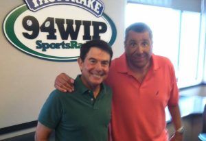 Merrill Reese and Angelo Cataldi (credit: WIP)