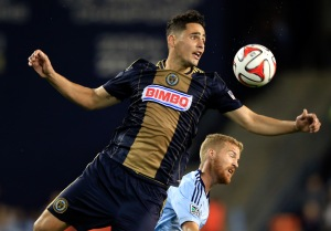 Leo Fernandes #22 of the Philadelphia Union (Photo by Jamie Squire/Getty Images)
