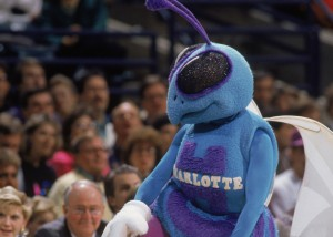 Hugo The Hornets Mascots (Photo by Jim Gund/Getty Images)