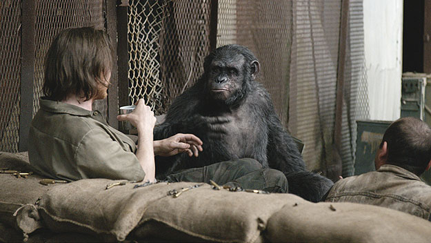 """(""""Dawn of the Planet of the Apes"""")"""