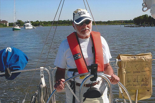 (Jay Lloyd, a US Coast Guard veteran, encourages safe boating practices.  File photo)