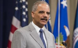 Eric Holder  (Photo credit should read SAUL LOEB/AFP/Getty Images)