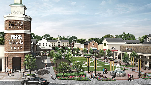 Groundbreaking Held For New Outlet Mall in Blackwood, NJ ...