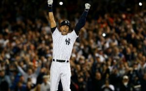 Derek Jeter  (Photo by Elsa/Getty Images)