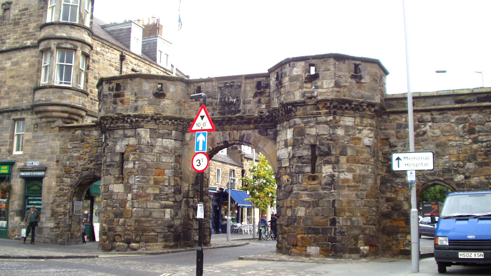 The West Gate of St. Andrews. (Credit: Jay Lloyd)
