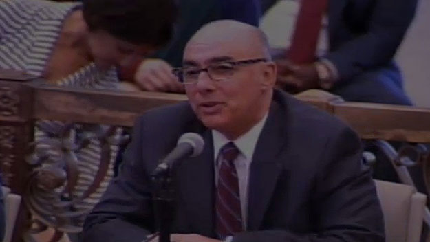 (Rick Dickson of the PPA.  Image from City of Phila. TV)