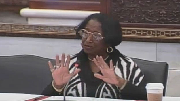 (Councilwoman Marian Tasco.  Image from City of Phila. TV)