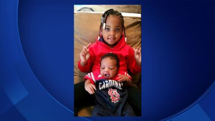Missing four-year-old Colette Hamilton and baby Cortez Hamilton Jr.(Credit: Delaware State Police)