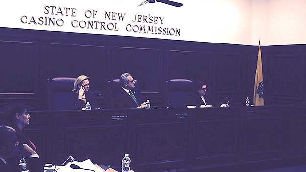 (The New Jersey Casino Control Commission votes to approve Hard Rock's statement of compliance.  Photo by David Madden)
