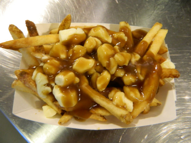 (Poutine is french fries topped with cheese curds and gravy.  Photo by Jay Lloyd)