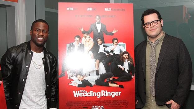 The Wedding Ringer w/ Kevin Hart (Photo by Maury Phillips/Getty Images)