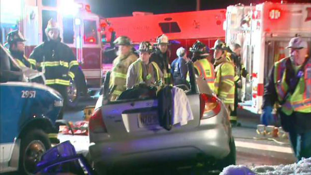 1 Dead After Vehicle Collides With Ambulance In South Jersey