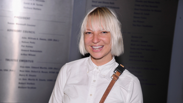 Singer Sia (Photo by Stephen Lovekin/Getty Images)