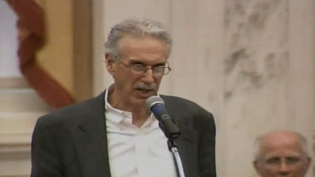 (Jeff Branff, of CCRA, urges City Council to reject the bill.  Image from City of Phila. TV)