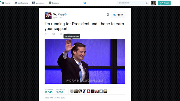 (Image from Twitter account of Ted Cruz)