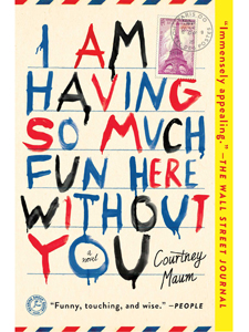 I Am Having So Much Fun Here Without You, Courtney Maum, Reading, Book Club