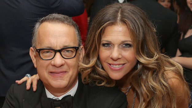 Tom Hanks and Rita Wilson (Photo by Mike Windle/Getty Images)