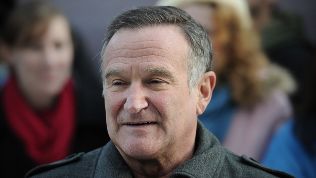 Robin Williams (Photo by Car Court/Getty Images)