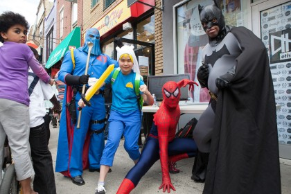 The South Street Spring Festival coincides with free comic book day. (Credit: South Street Headhouse District)