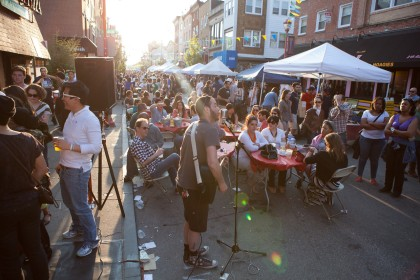 The South Street Spring Festival features performances from dozens of different bands. (Credit: South Street Headhouse District)