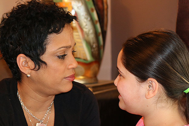 (Valerie Crabbe and her daughter Odelia.  Photo provided)