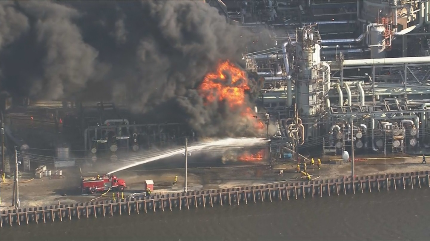 Philadelphia Energy Solutions Files For Bankruptcy Month After Massive Fire Leads To Closure