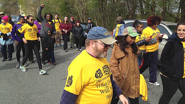 (A walk to raise money for two of Philadelphia's victim support agencies was held in April 2015.  Photo by Cherri Gregg)