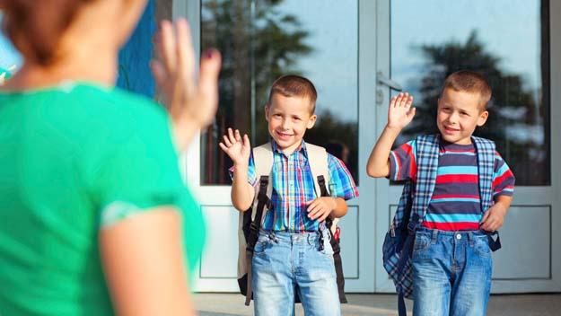 First Day Of School, Bus Stop, Back To School