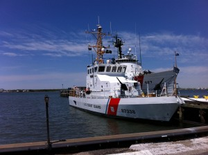Coast Guard Cutters at Cape May, NJ. (Photo by Jay Lloyd)