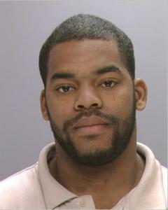 Maurice Taylor, 26, is suspected of hitting a Philadelphia police officer with his car and then fleeing the scene. (photo credit Philadelphia Police)