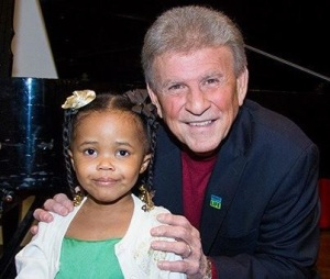 Assiah with Bobby Rydell. (credit: Rasheen Phinisee)