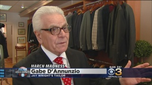 Jay Wrights tailor Gabe DAnnunzio (credit: CBS 3)