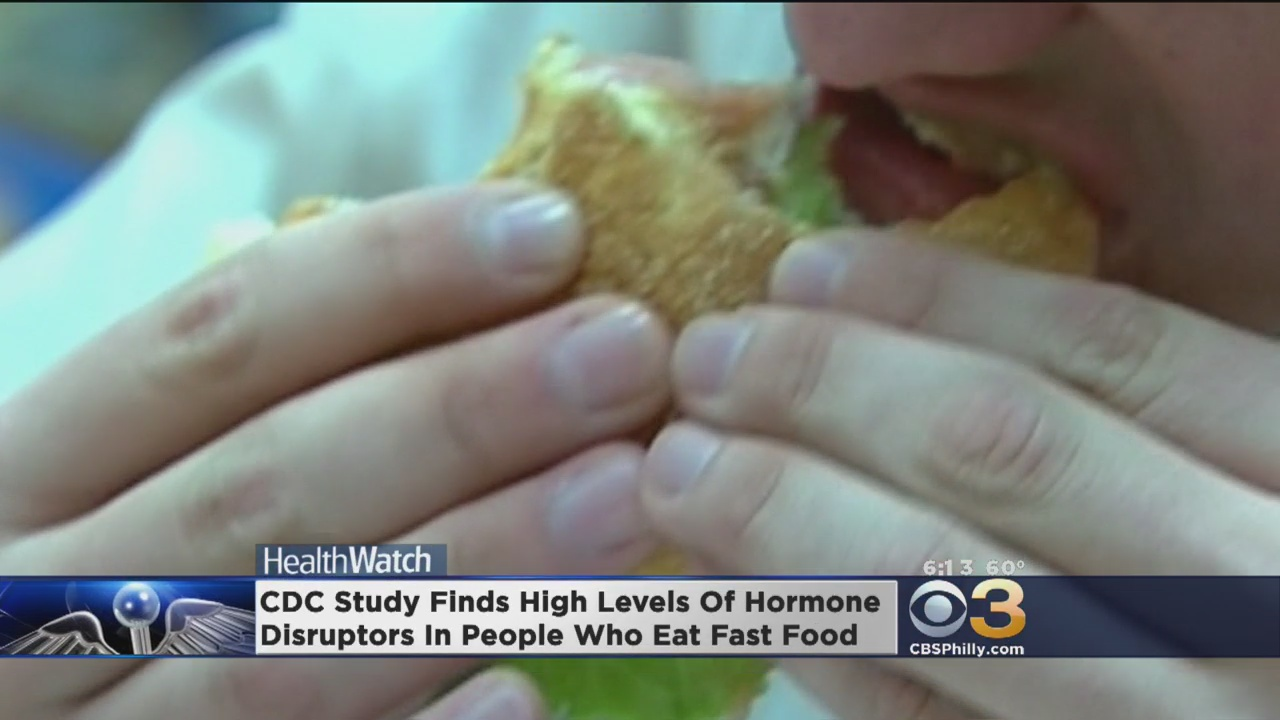 Study Finds High Levels Of Hormone Disruptors In People Who East Fast Food