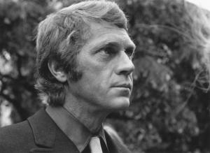 American screen actor Steve McQueen (1930-1980) in London. (Photo by McCarthy/Getty Images)