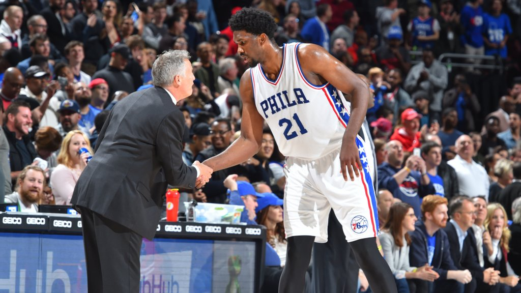 hot sales e4f22 1f396 Bill Simmons Put Joel Embiid On His All-Star Ballot – CBS Philly