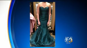 An example of a reportedly denied dress sent to Eyewitness News. (credit: Anita Oh)
