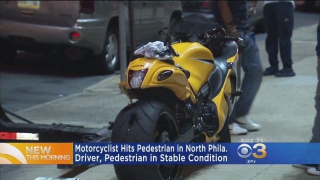 Motorcycle Crash – CBS Philly