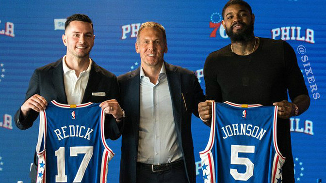 premium selection a6d9b ab8f4 76ers' Deal With J.J. Redick Ranked Among NBA's Worst – CBS ...