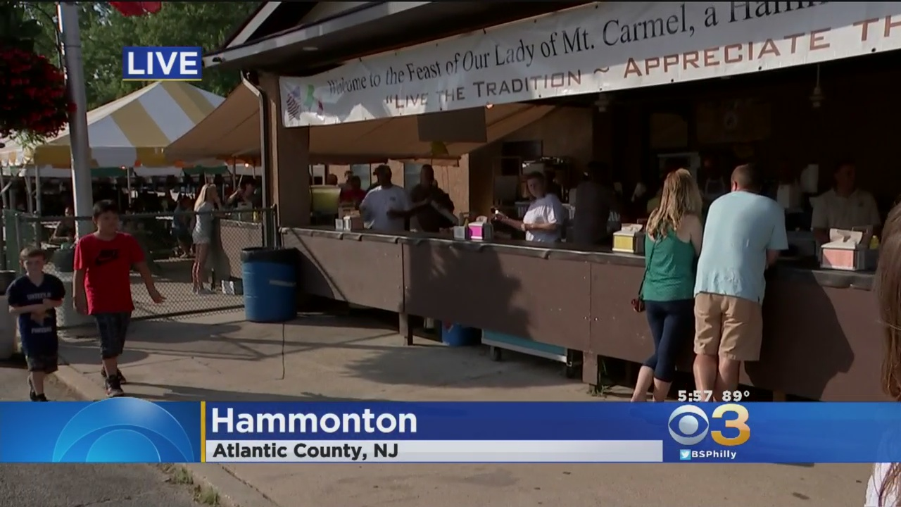 Our Lady Of Mount Carmel Festival Hits 142 Years – CBS Philly