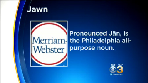 Merriam-Webster Considers Adding 'Jawn' To The Dictionary