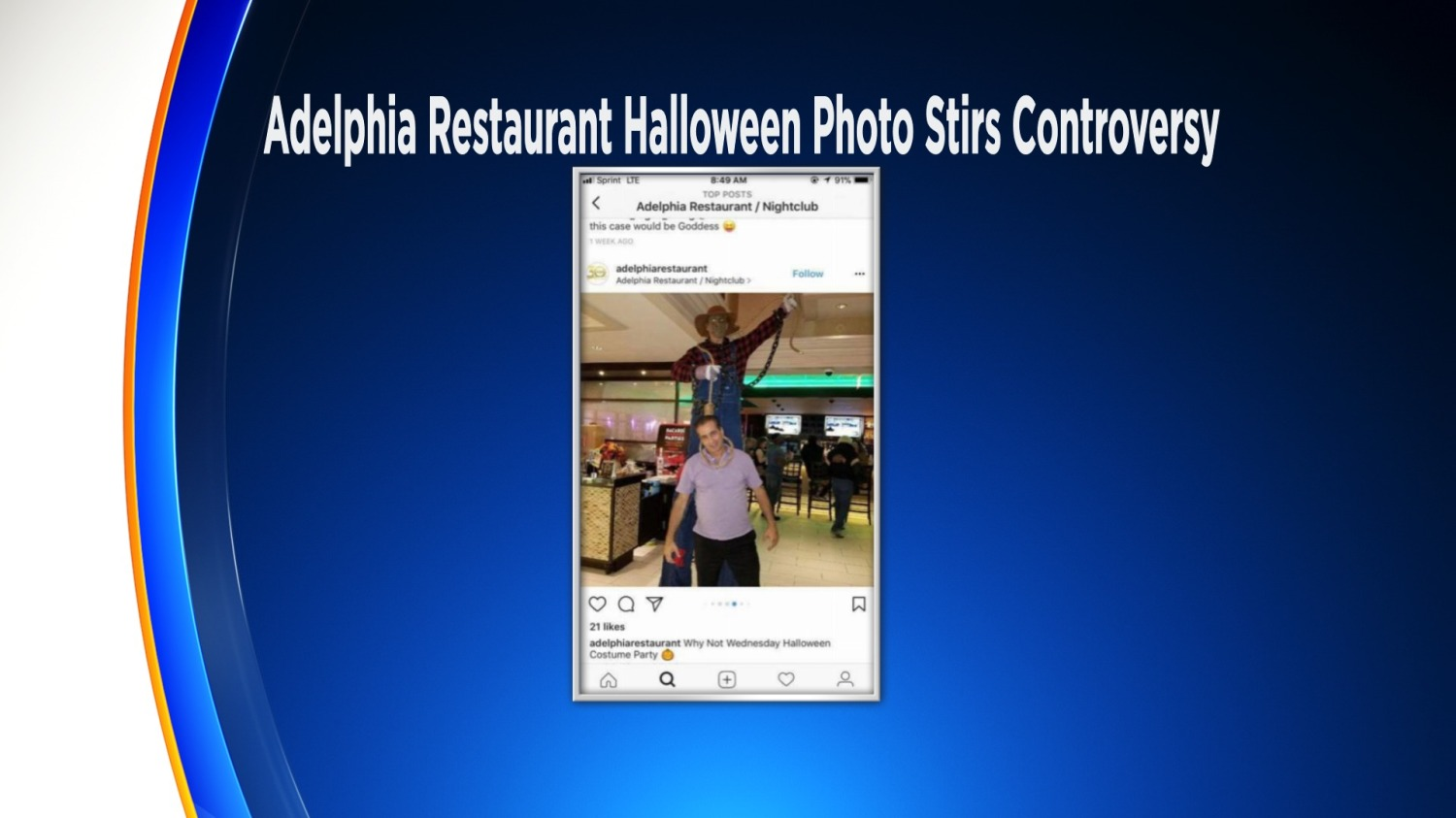 Adelphia Halloween Party 2020 Halloween Party Picture With Racial Overtones Causes Stir In