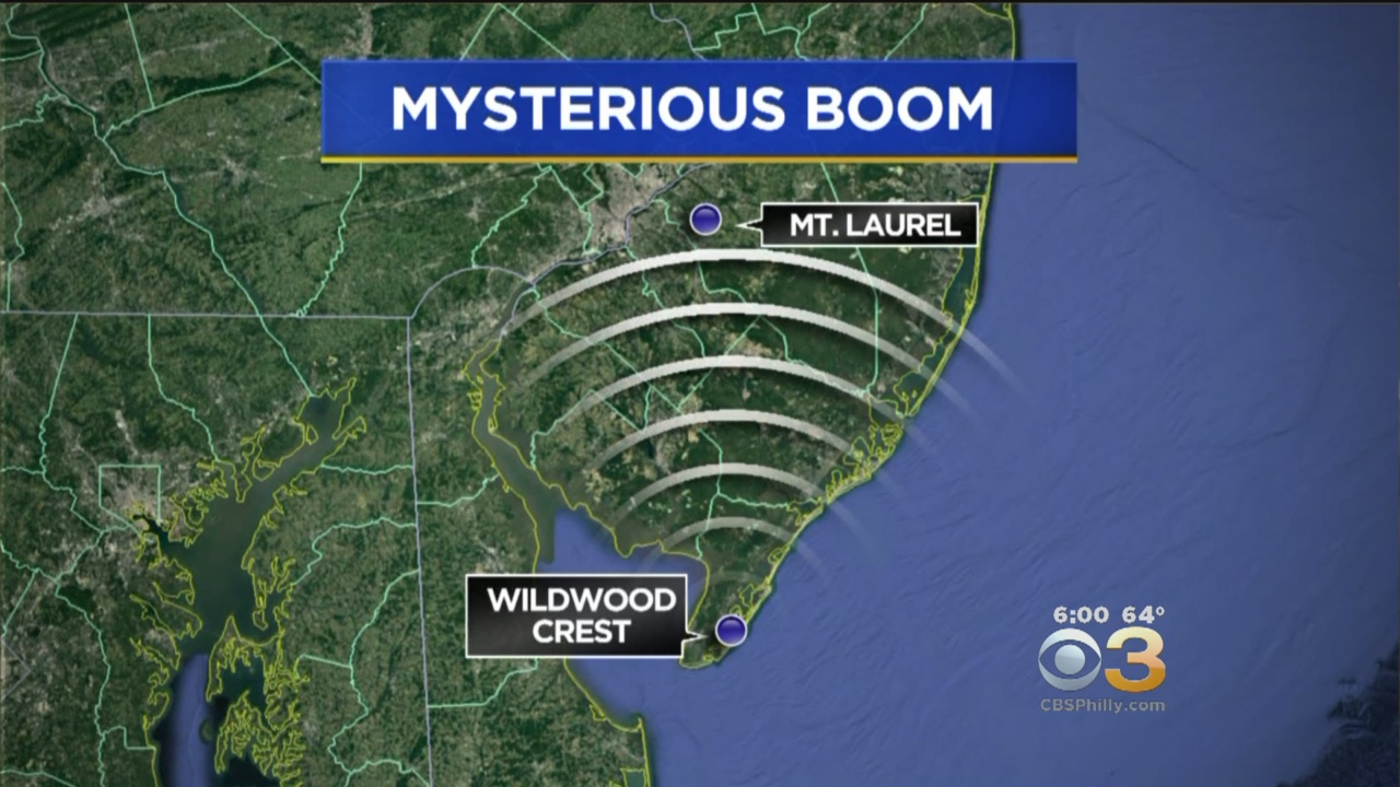 Officials Investigate Reports Of Booms That Shook Ground In