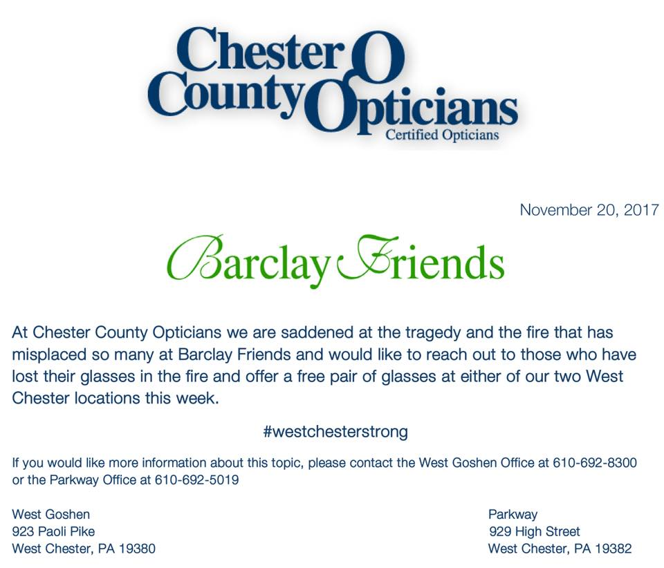 Chester County Opticians