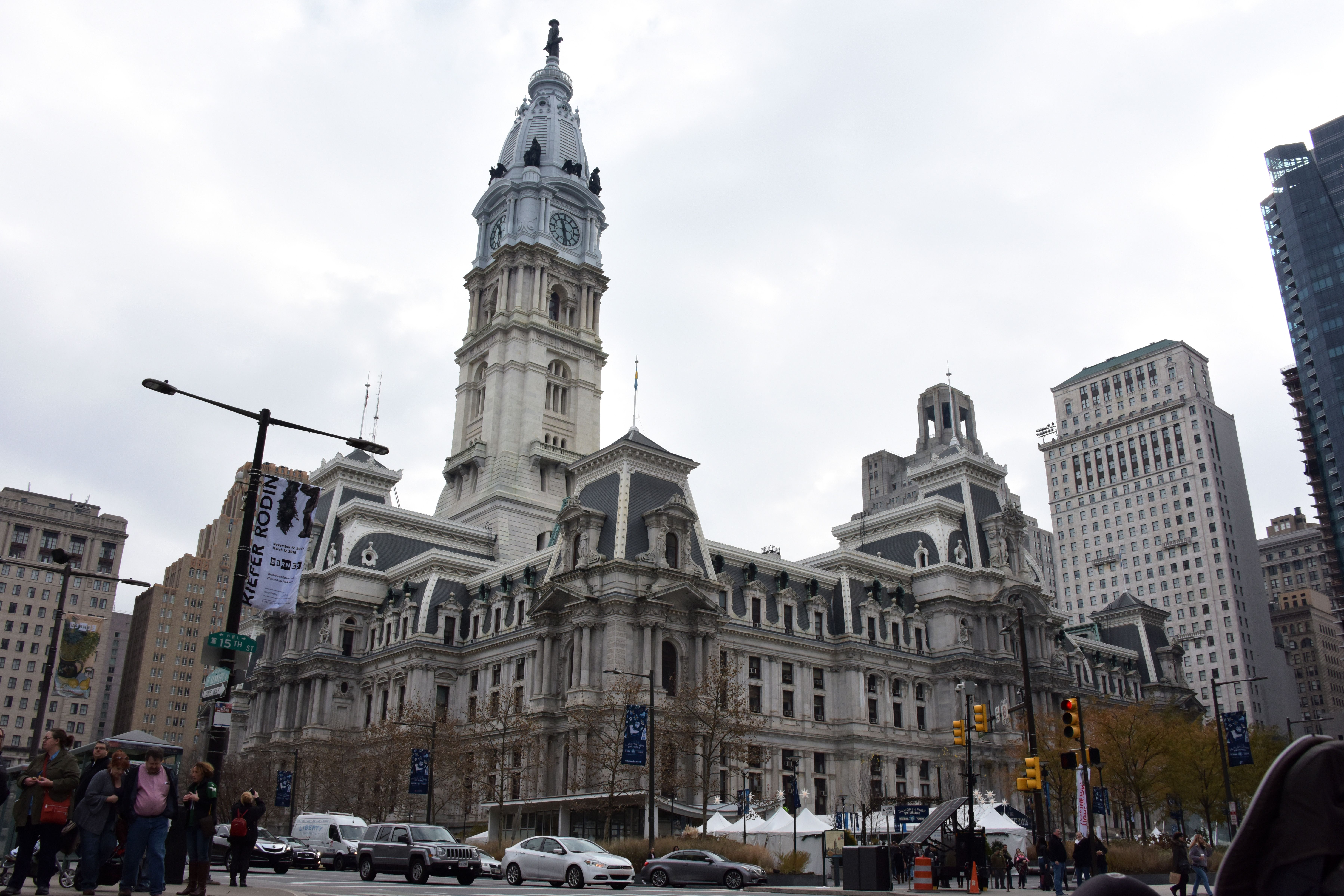 Power Restored To Philadelphia City Hall After Outage Causes