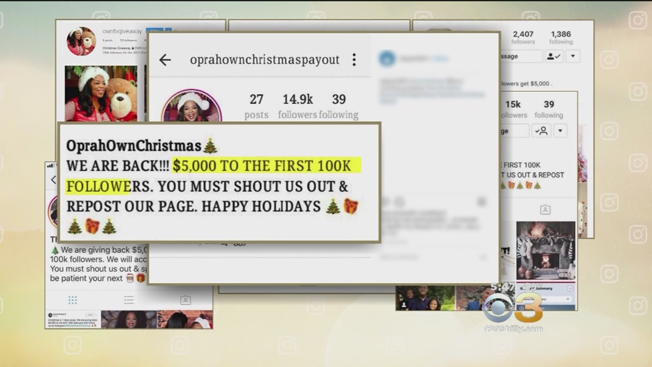 Scammers Impersonating Oprah Winfrey On Instagram To Get Victims To