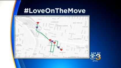 LOVE parade route