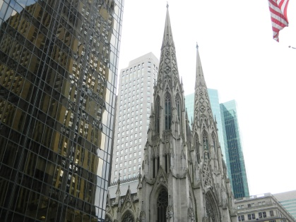 St. Patrick's Cathedral Spires (Jay Lloyd)
