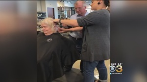 Man Learns To Do His Wife's Hair After Stroke Leaves Her Unable To Style It