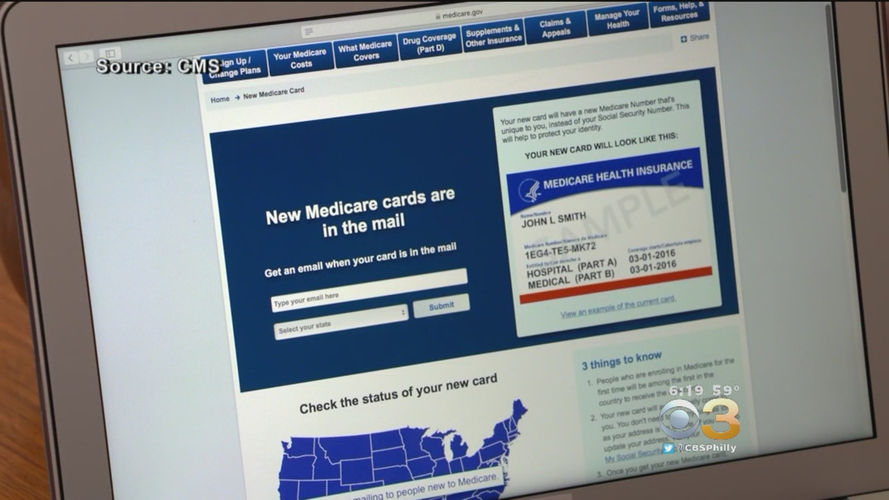 New Medicare Cards Are In The Mail Just Beware Of Scams Cbs Philly
